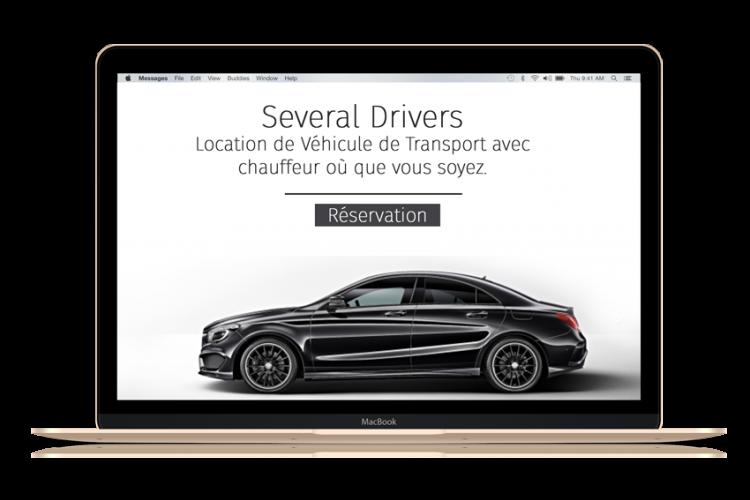 réservation de votre chauffeur en ligne