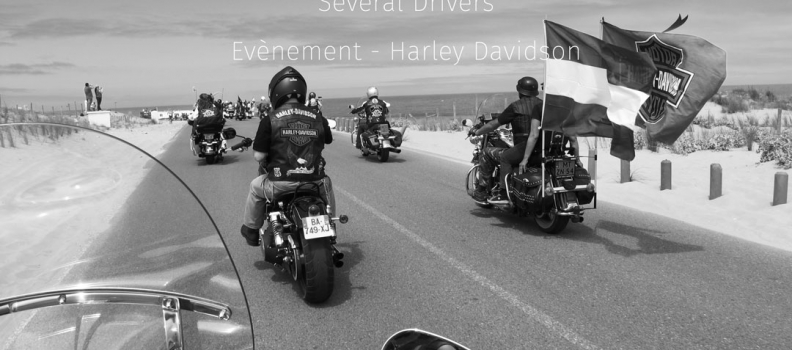 Rassemblement Harley-Davidson à Port Grimaud